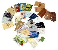 Печать визиток типография предложит вам множество вариантов